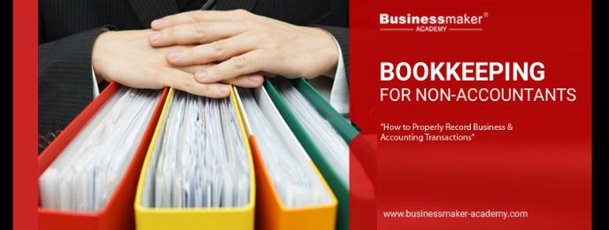 Bookkeeping for Non-Accountants Course Training by Businessmaker Academy