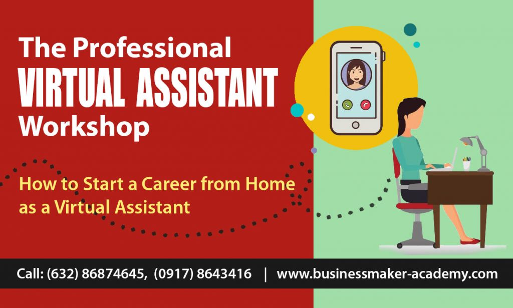 Professional Virtual Assistant Training by Business Maker Academy, Inc.
