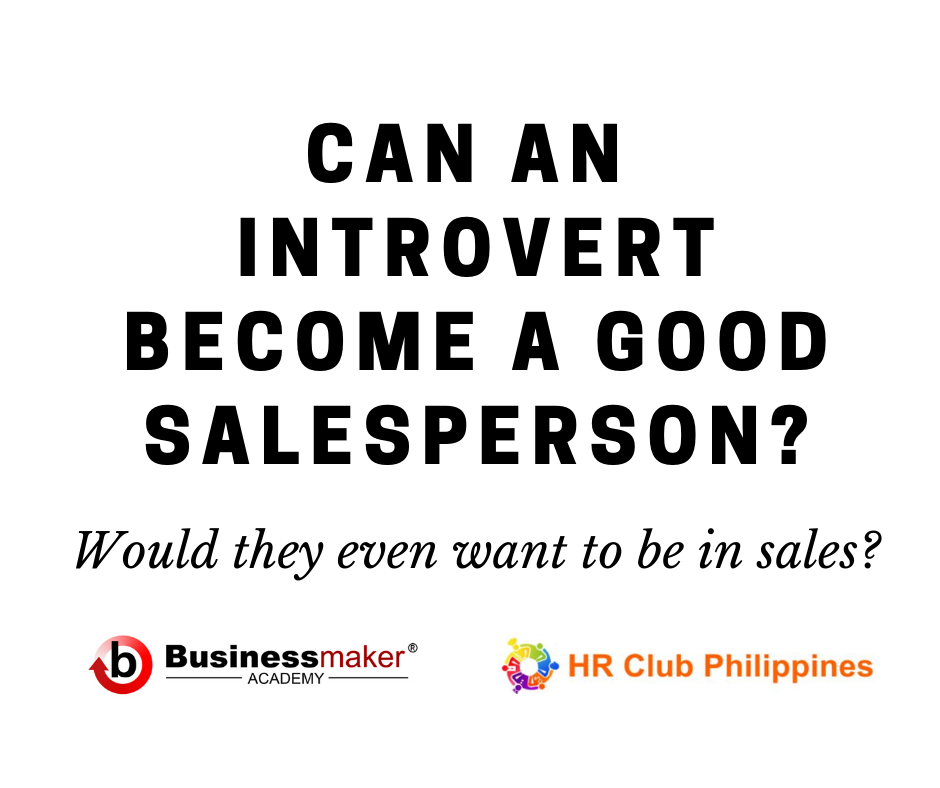 Can an introvert become a good salesperson?