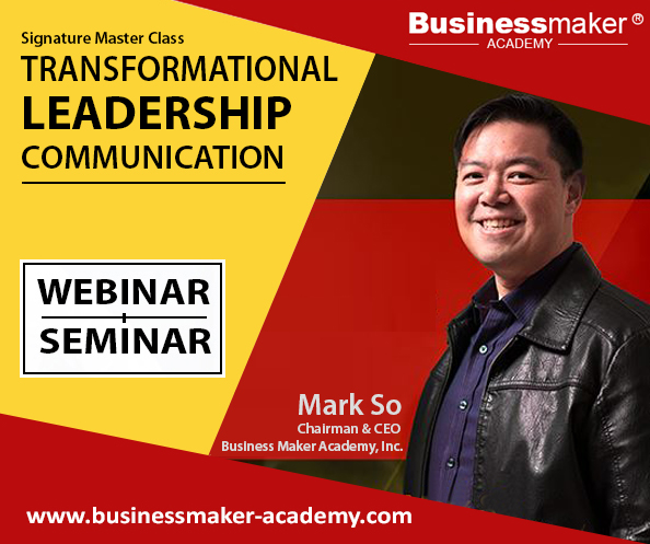 Transformational Leadership Communication Course by Businessmaker Academy
