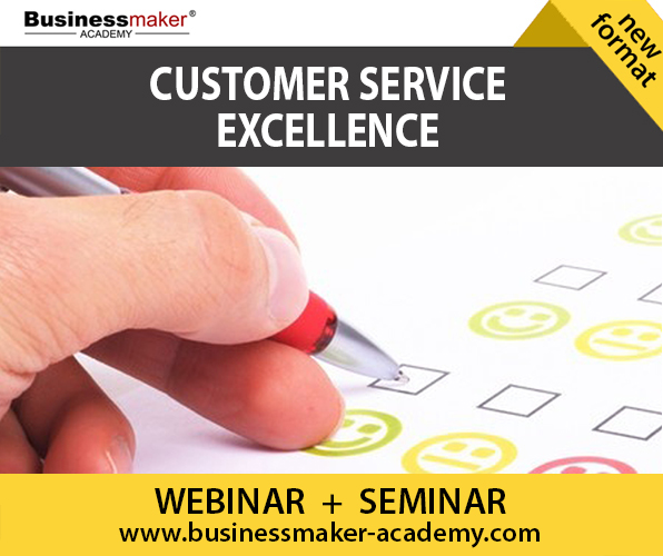 Customer Service Excellence Course by Businessmaker Academy