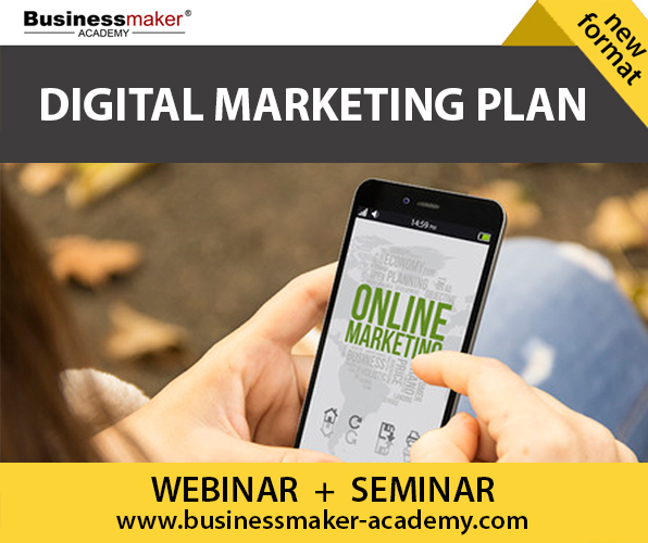 Digital Marketing Plan Course by Businessmaker Academy