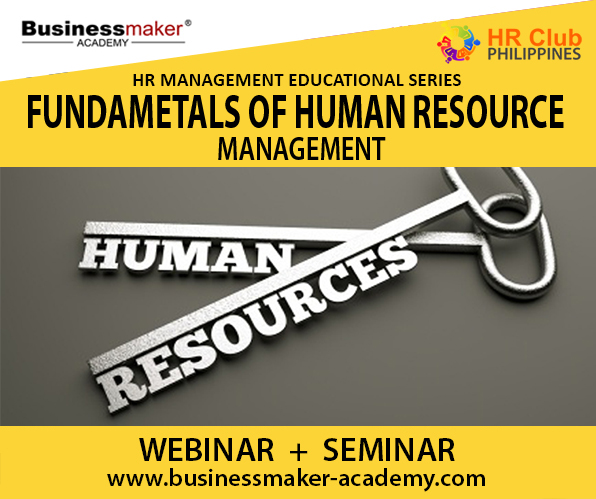 Fundamentals of Human Resource Management course by Businessmaker Academy