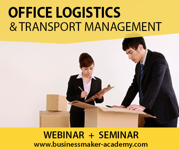 Office Logistics & Transport Management Course by Businessmaker Academy