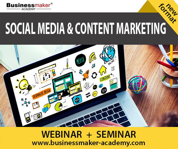 Social Media & Content Marketing Course by Businessmaker Academy