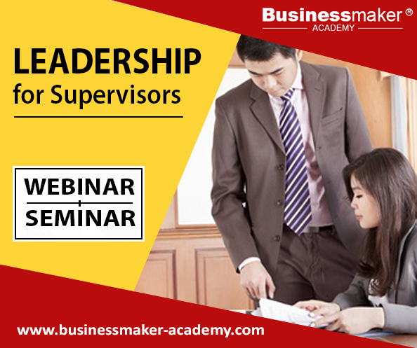 Leadership for Supervisors Course by Businessmaker Academy