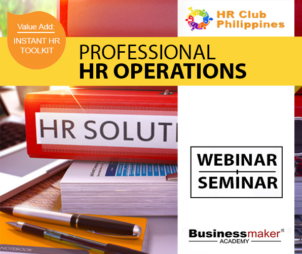 Professional HR Operations Training by Business Maker Academy, Inc.