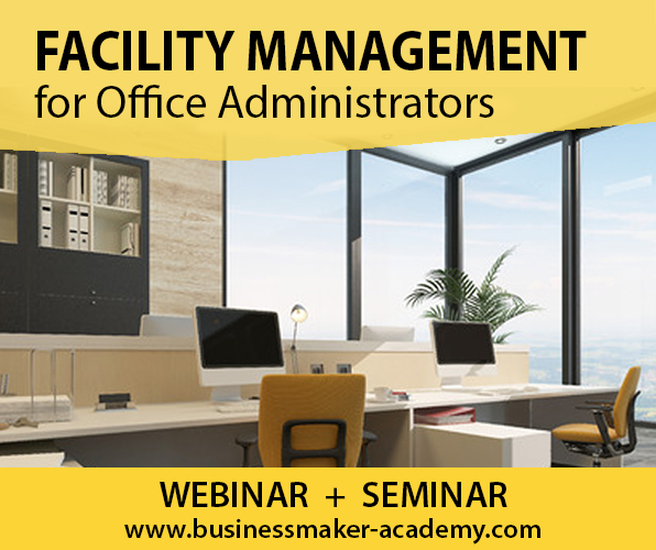 Office Facilities Management Training by Business Maker Academy, Inc.