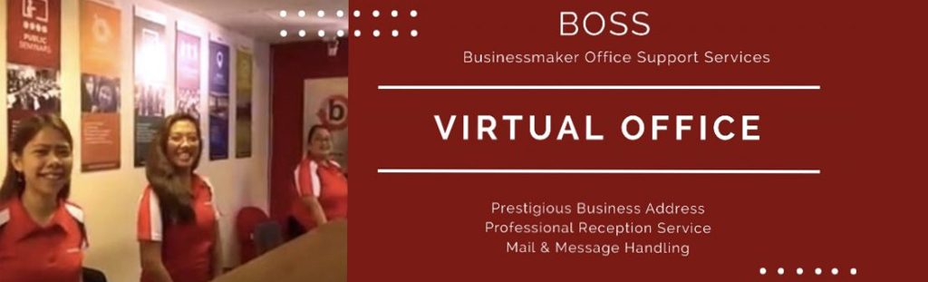 Virtual Office Rentals by BOSS