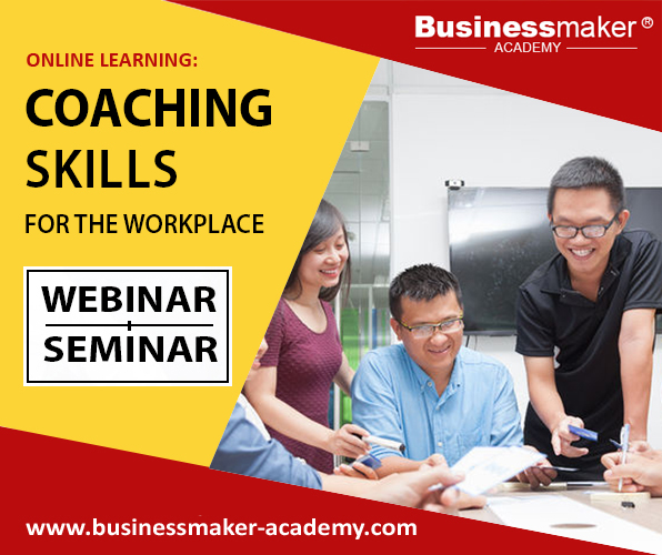 Coaching Skills for Workplace Training by Businessmaker Academy