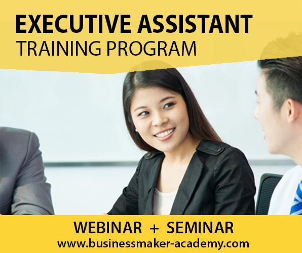 Executive Assistant Training by Business Maker Academy, Inc.