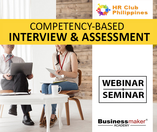 Training Course: Competency Interview and Assessment by Business Maker Academy, Inc.
