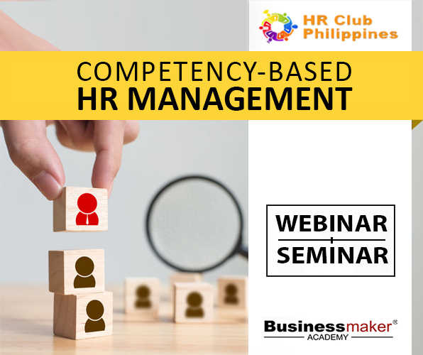 Competency based HR Management Training by Businessmaker Academy
