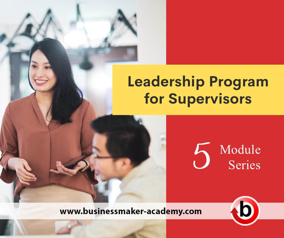 Leadership for Supervisors Webinar and Seminar Training Program Bundle by Businessmaker Academy Philippines