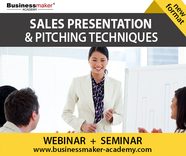 Sales Presentation Skills Training by Business Maker Academy, Inc.