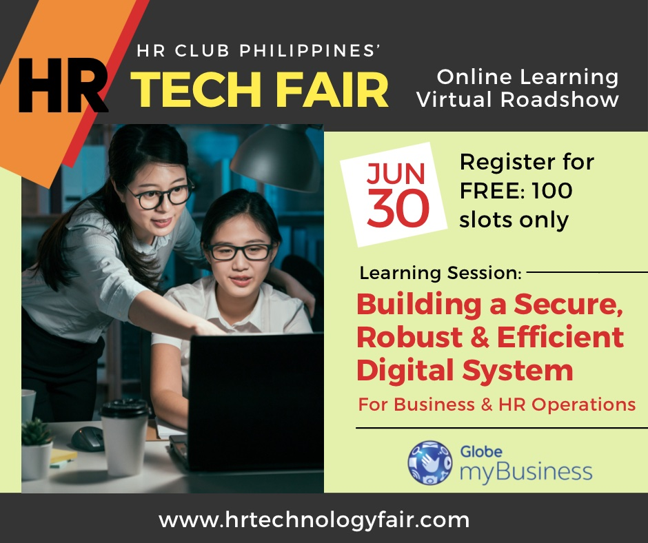 HR Technology Webinar - Building a Robust Digital System by HR Club Philippines