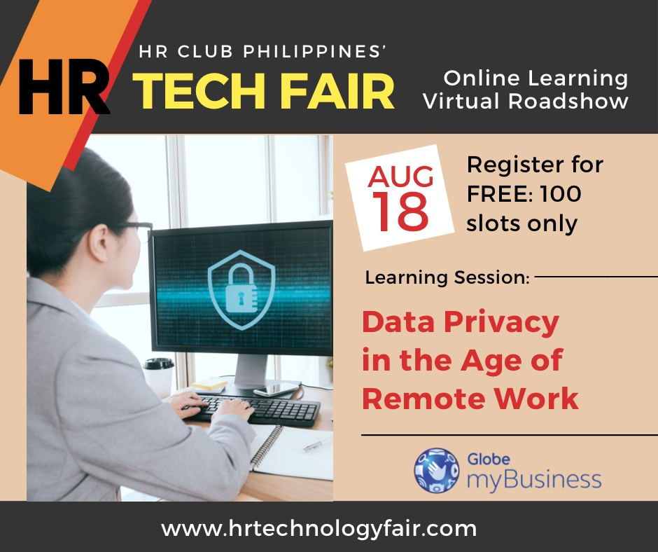 HR Tech Webinar: Data Privacy in the Age of Remote Work