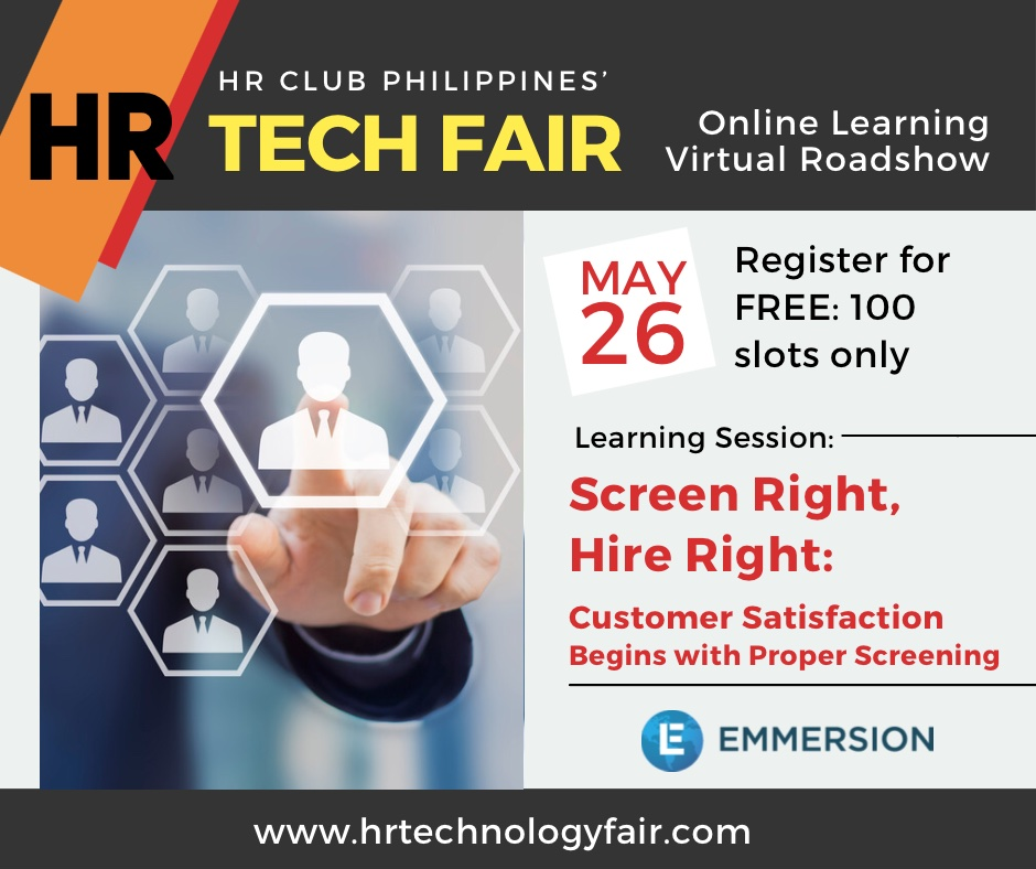 HR Technology Fair - Screen Right Hire Right
