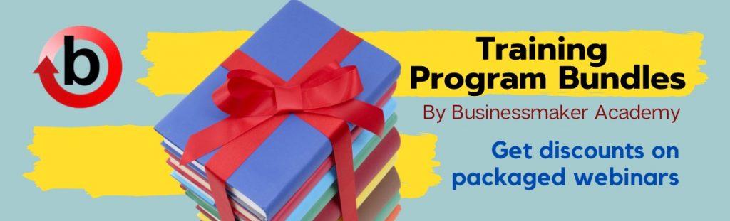 Training Program Bundle by Businessmaker Academy Philippines