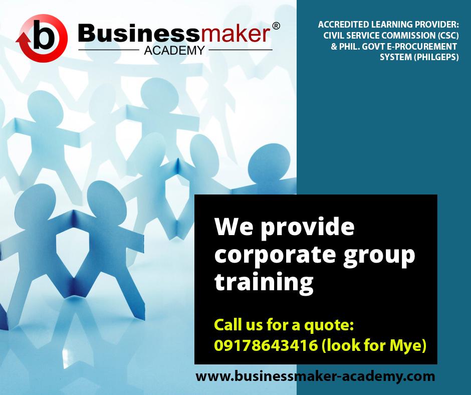Corporate Training Philippines