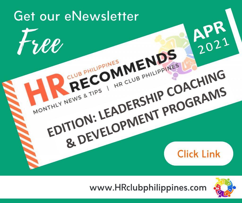 HR Club Newsletter - April 2021 Edition by HR Club Philippines