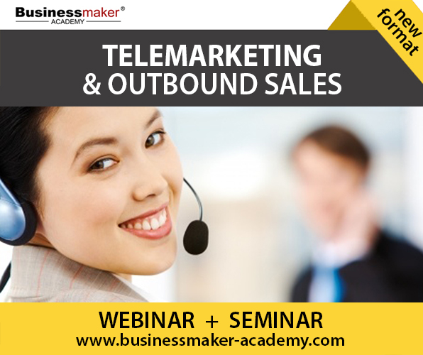 Telemarketing & Outbound Sales Training by Business Maker Academy
