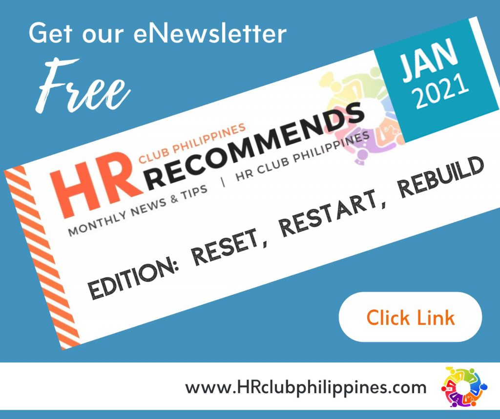 HR Club Newsletter - January 2021 Edition by HR Club Philippines