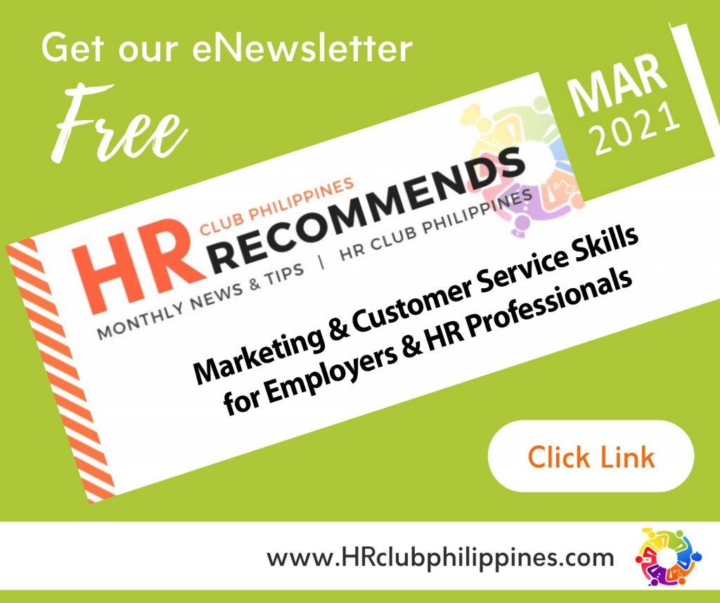 HR Club Newsletter - March 2021 Edition by HR Club Philippines