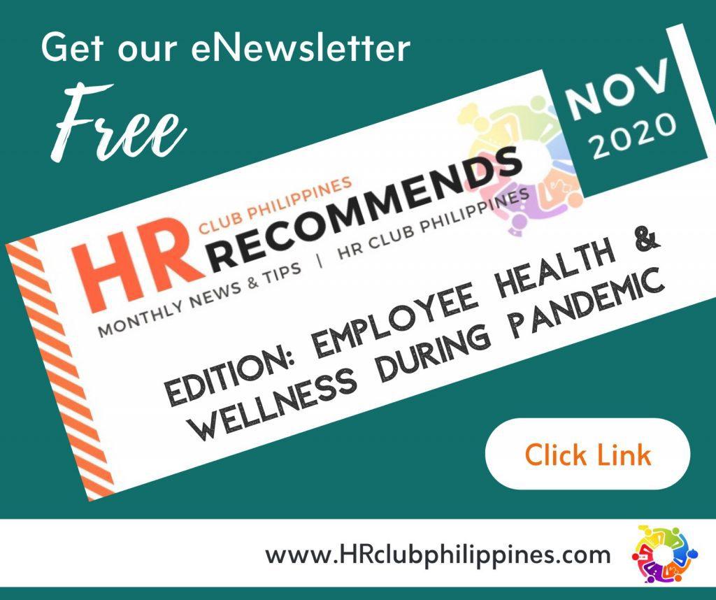 HR Club Newsletter - November 2020 Edition by HR Club Philippines