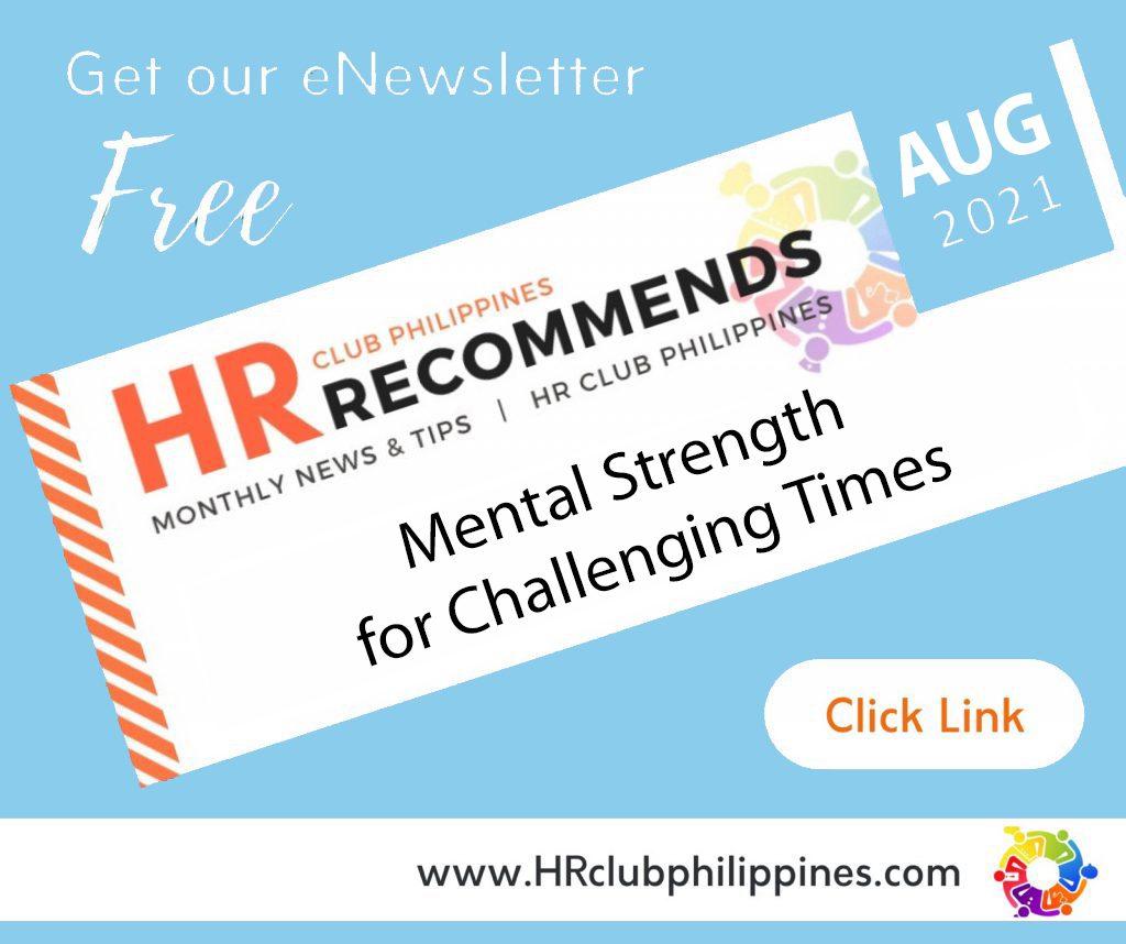 HR Club Philippines eNewsletter August 2021 Edition