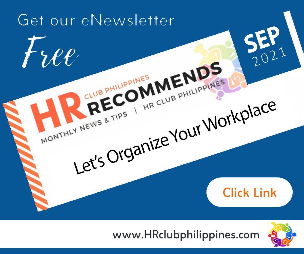 HR Club e-Newsletter - Sept 2021 Edition