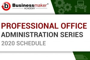 BMA Site - Office Admin Series copy